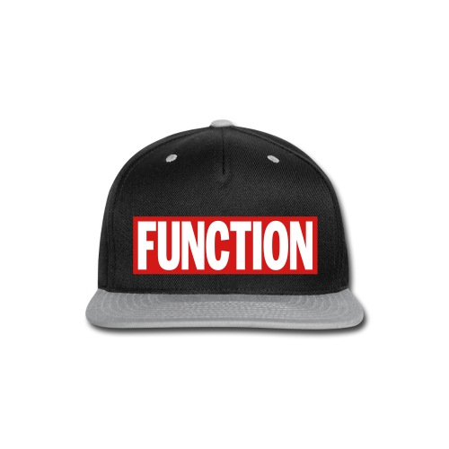 FUNCTION - Snap-back Baseball Cap
