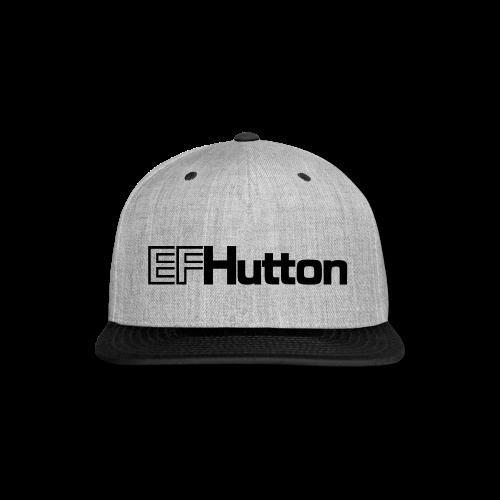 EF Hutton - Snap-back Baseball Cap