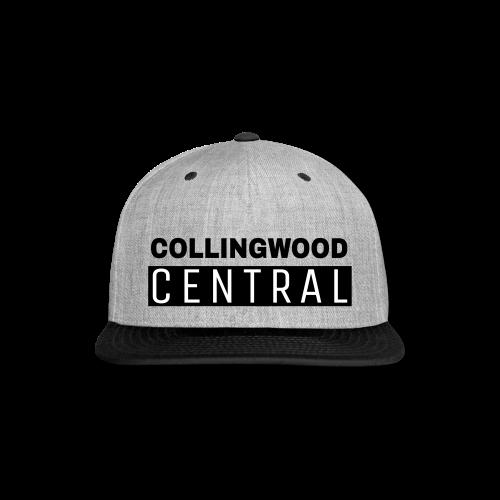 BLK Collingwood Central Logo - Snap-back Baseball Cap