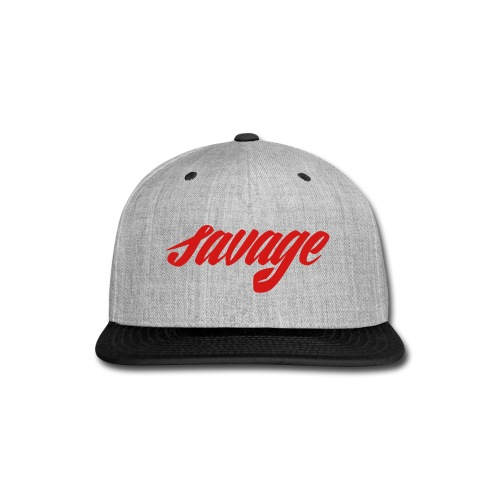 savage dude - Snap-back Baseball Cap