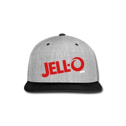 Jell O logo - Snap-back Baseball Cap