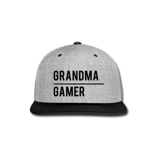 GrandmaGamer_Shirt - Snap-back Baseball Cap