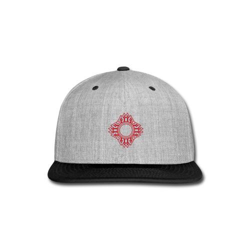 New Mexico Zia Symbol Streetwear - Snap-back Baseball Cap