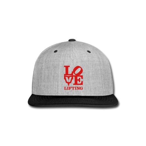 Love Lifting - Snap-back Baseball Cap