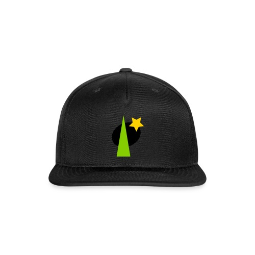 geometric design - Snap-back Baseball Cap