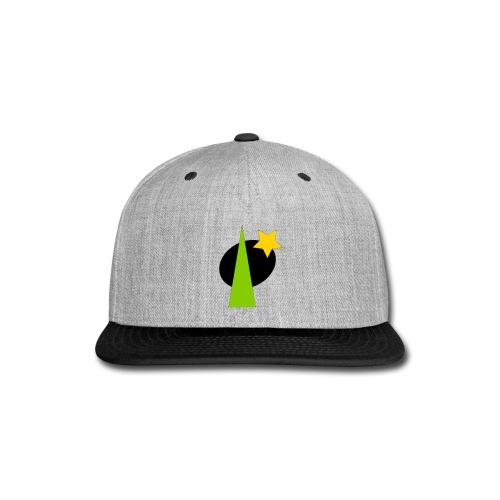 geometric design - Snap-back Baseball Cap