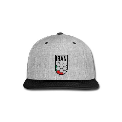 Iran Football Federation Crest - Snap-back Baseball Cap