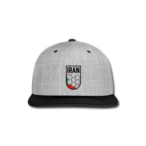 Iran Football Federation Crest - Snap-back Baseball Cap