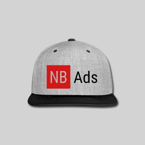 Nothing But Ads Logo - Snap-back Baseball Cap