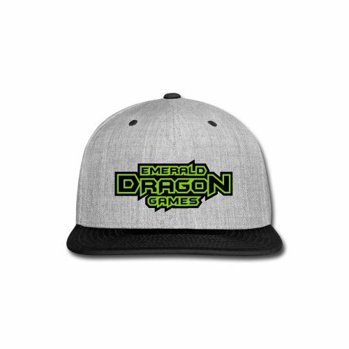 Emerald Dragon Games - Snap-back Baseball Cap