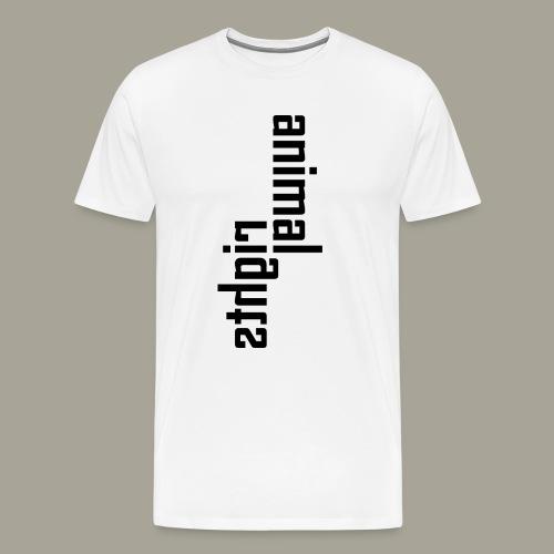 Animal Rights Protection Idea Gift - Men's Premium T-Shirt