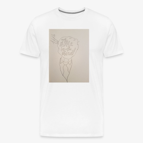 The Battle In The Mind - Men's Premium T-Shirt
