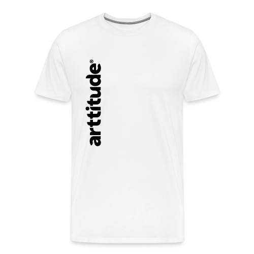 Arttitude White - Men's Premium T-Shirt
