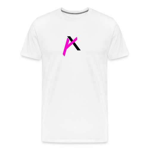 amaadilogo pink an black - Men's Premium T-Shirt