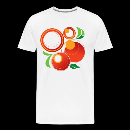 Abstract Oranges - Men's Premium T-Shirt