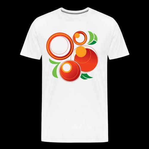 Abstract Oranges - Men's Premium T-Shirt