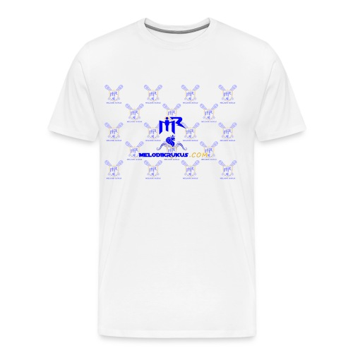 MR checkered - Men's Premium T-Shirt