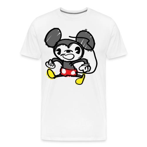 Morky Mouse - Men's Premium T-Shirt