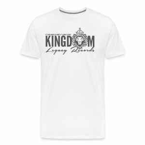 KINGDOM LEGACY RECORDS LOGO MERCHANDISE - Men's Premium T-Shirt