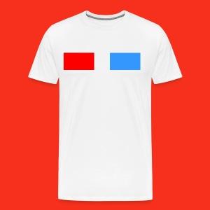 3D Glasses - Men's Premium T-Shirt