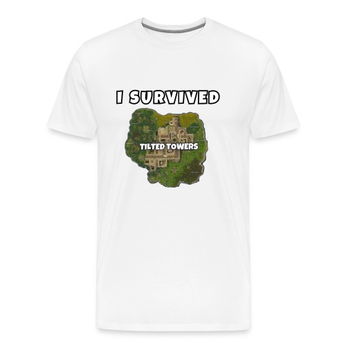 I SURVIVED TILTED TOWERS - Men's Premium T-Shirt