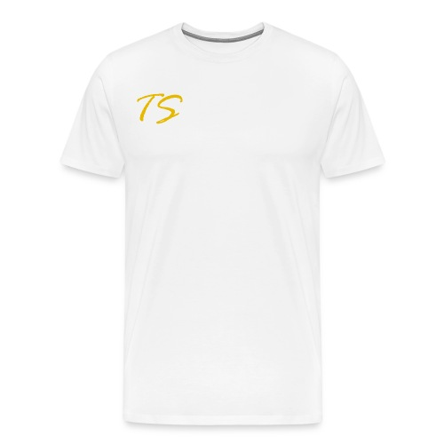 TS LOGO-GOLD VERSION [LIMITED EDITION] - Men's Premium T-Shirt
