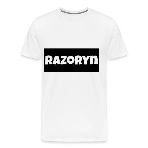 Razoryn Plain Shirt - Men's Premium T-Shirt