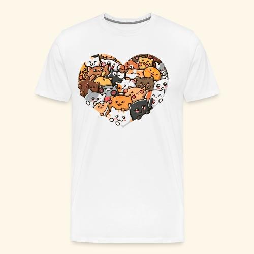 Cute Cats - Men's Premium T-Shirt