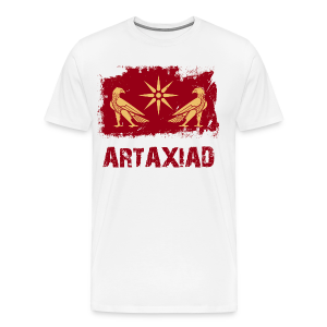 Artaxiad Coat of Arms - Gold Red - Men's Premium T-Shirt