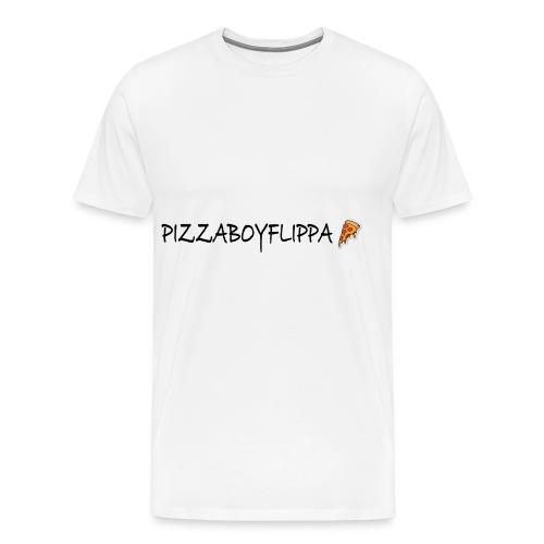 PizzaBoyFlippa - Black - Men's Premium T-Shirt