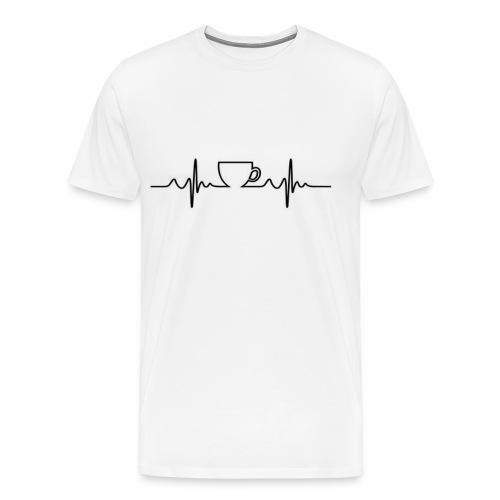 Coffee Beat - Men's Premium T-Shirt