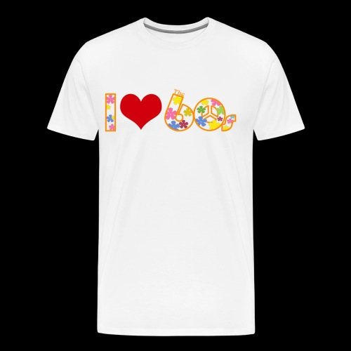 I love 60s - Men's Premium T-Shirt