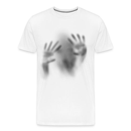 Trapped Ghost Person Cool Scary Crazy - Men's Premium T-Shirt