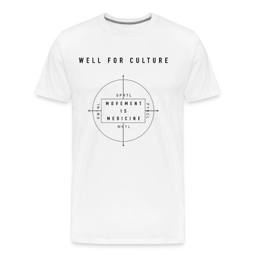 WFC - Movement is Medicine - Men's Premium T-Shirt