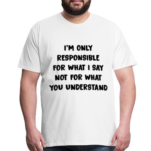 QUOTES - Men's Premium T-Shirt