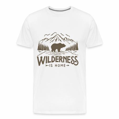 Wild Series - Wilderness - Men's Premium T-Shirt