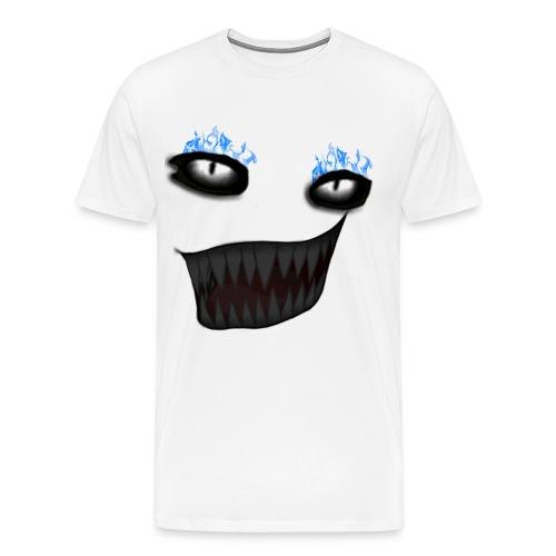 Littism Flame Biter Face - Men's Premium T-Shirt