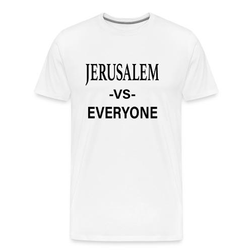 Jerusalem vs Everyone Tee BLK - Men's Premium T-Shirt