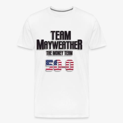 Team Mayweather 50-0 - Men's Premium T-Shirt