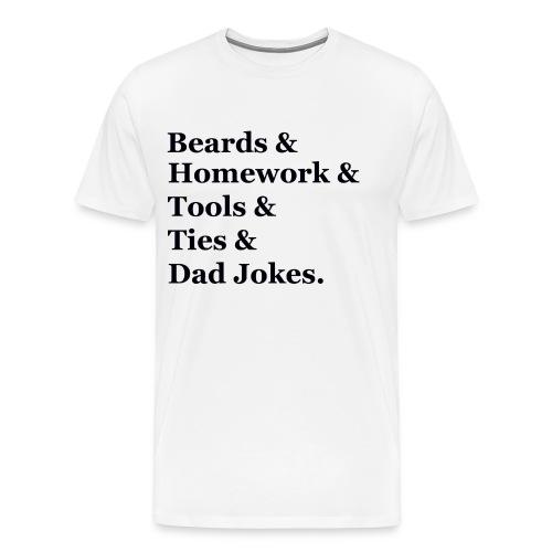 beards - Men's Premium T-Shirt