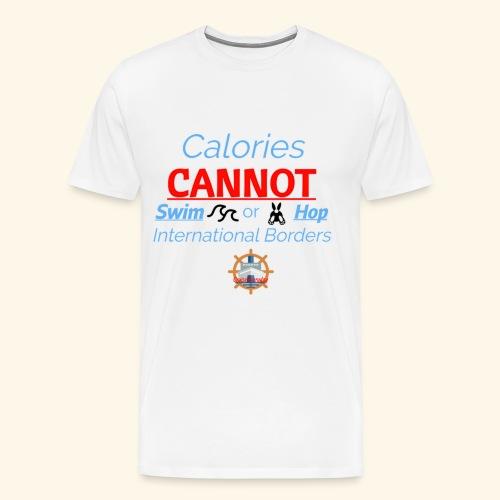Cruise Ship Calories - Men's Premium T-Shirt