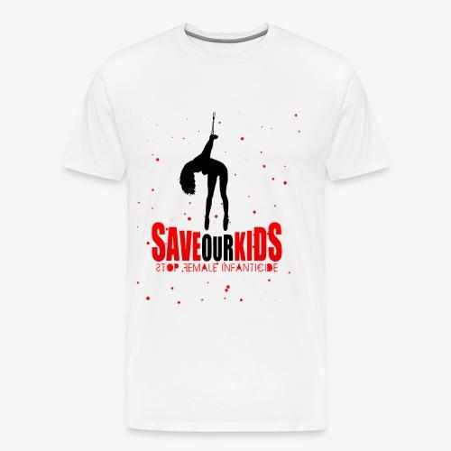Saveourkids - Men's Premium T-Shirt