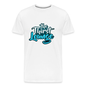 The Thirst Lounge Table Logo - Men's Premium T-Shirt