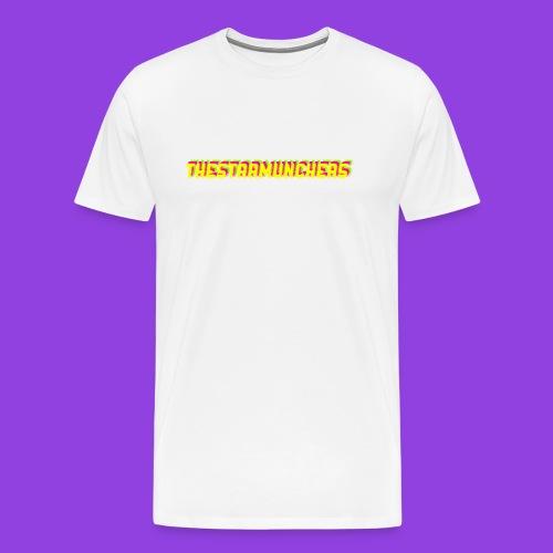 TheStarMunchers Logo - Men's Premium T-Shirt