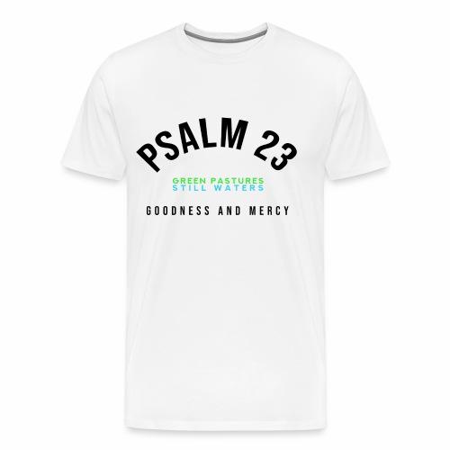 PSALM 23 CHAMPION (for white/lighter colors) - Men's Premium T-Shirt