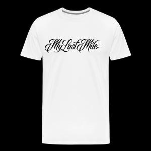 My Last Mile Merch - Black - Men's Premium T-Shirt