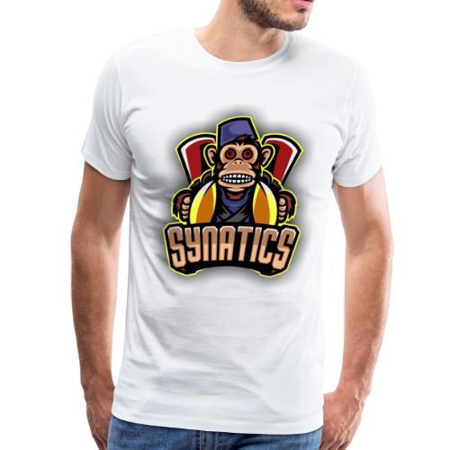 Synatics mascot logo - Men's Premium T-Shirt