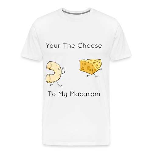 Mac love Cheese - Men's Premium T-Shirt