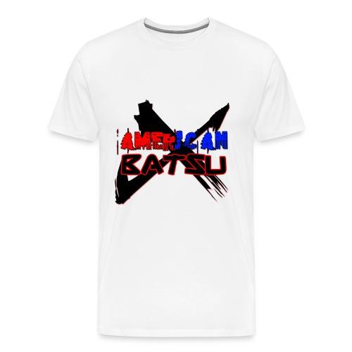 American Batsu Logo - Men's Premium T-Shirt