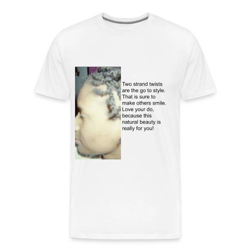 two strand 2 - Men's Premium T-Shirt